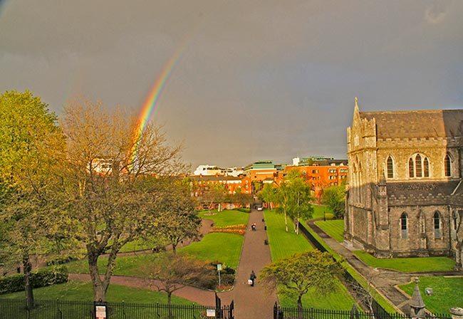 arcoiris en irlanda