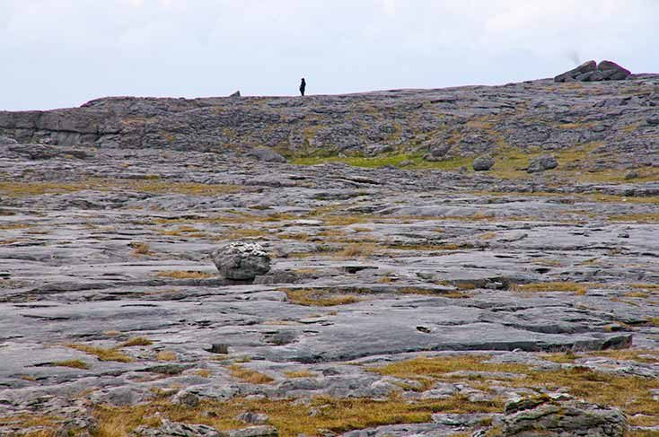 Burren en Irlanda
